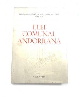 LLEI COMUNAL ANDORRANA