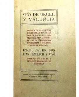 SEO DE URGEL Y VALENCIA
