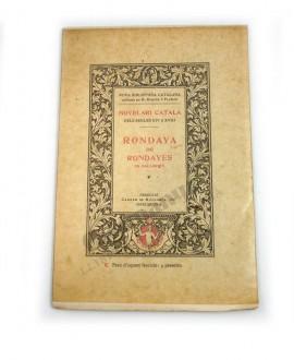 RONDAYA DE RONDAYES EN MALLORQUI  (Palma 1815 – 1817)