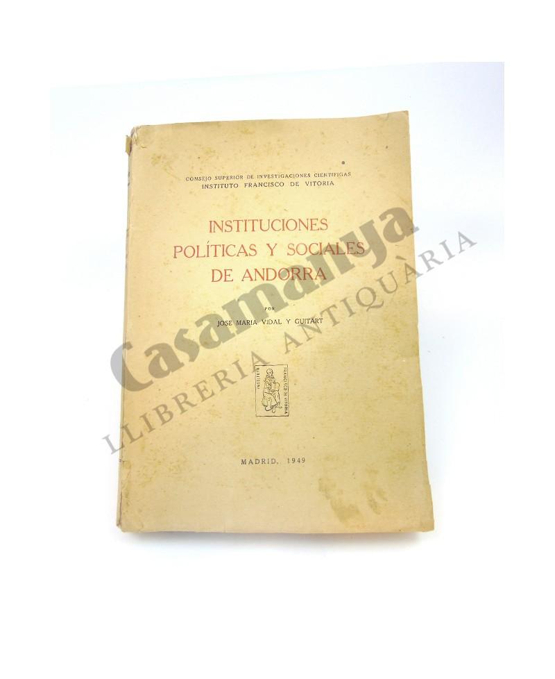 INSTITUCIONES POLÍTICAS Y SOCIALES DE ANDORRA