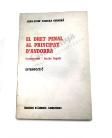 EL DRET PENAL AL PRINCIPAT D'ANDORRA