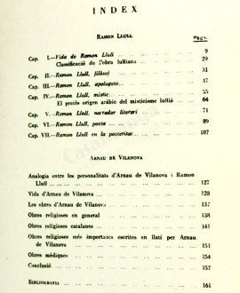 RAMON LLULL I ARNAU DE VILANOVA