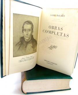 JAIME BALMES OBRAS COMPLETAS 2 VOL.