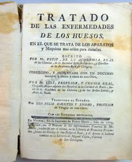 TRATADO DE LAS ENFERMEDADES DE LOS HUESOS