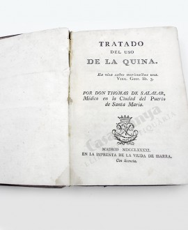 TRATADO DEL USO DE LA QUINA