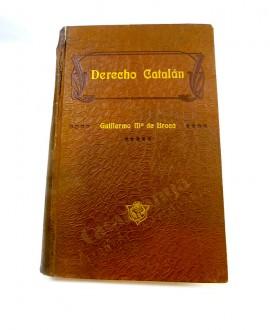 DERECHO CATALAN VOL. I