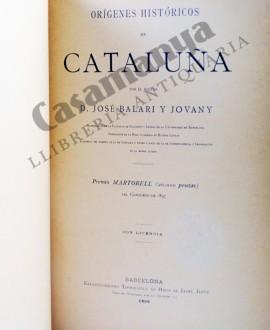 ORIGENES HISTORICOS DE CATALUÑA